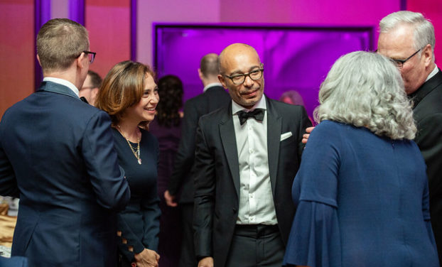 Brenard Thebaud at The Ittawa Hospital Gala