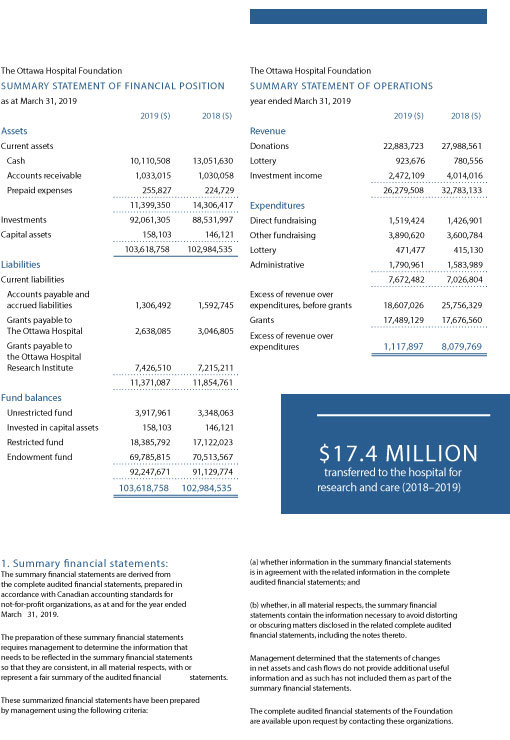 French French Summary of Annual Report Financial Statements Page 33