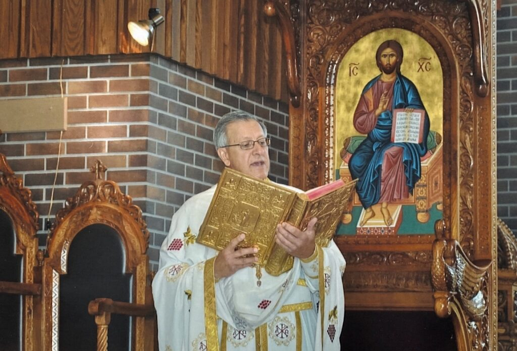 Fr. Michalopulos in Church