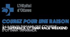 Run for a reason logo ottawa hospital