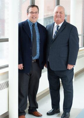 Phil et son fils Sean