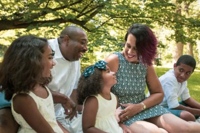 Natasha and her family