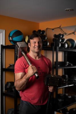 Devon with weights