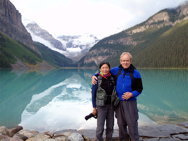 Ida and Clarence in Banff
